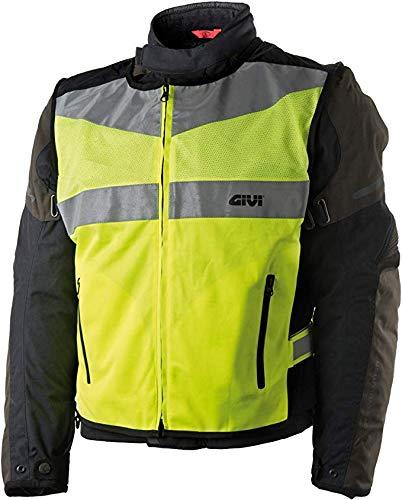 GIVI Gilet Fluo Trekker Vest Alta Visibilita VEST02 Moto Scooter (L/XL)