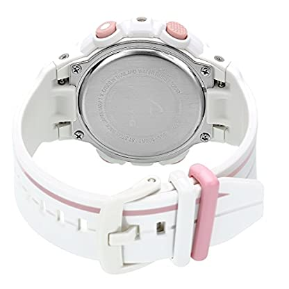 Casio Baby-g Analog-Digital White Dial Women's Watch – BGS-100RT-7ADR (BX107)
