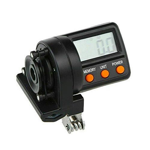 Isunday Angelschnur Zähler Digital Clip-On Tiefe Anzeige mit LED Digital Anzeige Maximal Messung Länge 999.9M