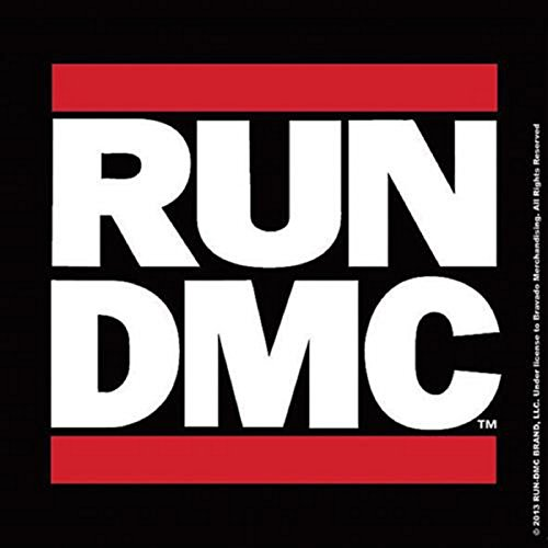 Run DMC Untersetzer band Logo Nue offiziell 9.5cm x 9.5cm single cork drink