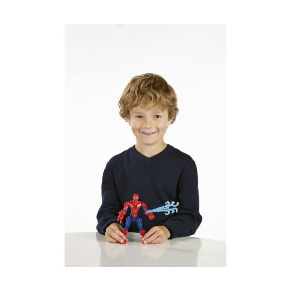 Marvel Super Hero Mashers Spider-Man Figure 6 Inches 3