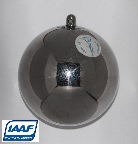 marteau d'athlétisme, acier spécial - 6,00 kg - Silver Prince - certificat d'IAAF