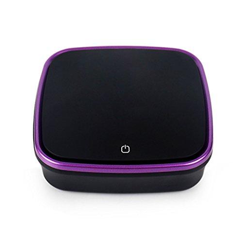 ZXMXY Car Intelligent Luftreiniger Odor Eliminator Cleaner Compact Luftreiniger Filtration Anion Mini mit duftenden Perlen Box für Home Car Office USB -