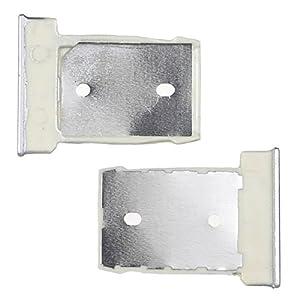 BisLinks® Silber Nano Sim Karte Tablett + SD Memory Karte Tablett Reader Halter Für HTC One M9