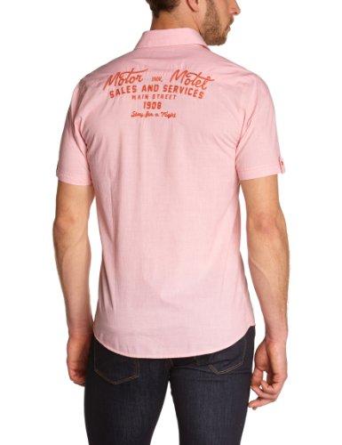 Lee Cooper Herbor2 - Chemise - Homme Orange (Emberglow)