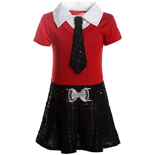 BEZLIT Mädchen Kleider Peticoat Festkleid Freizeit Sommer Kleid -