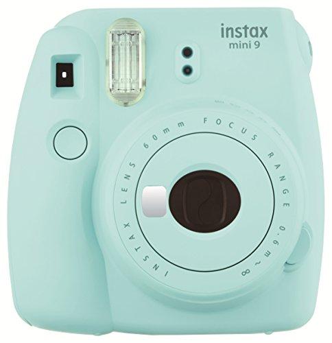 Fujifilm Instax Mini 9 - Cámara instantánea, Cámara con 1x10 películas, Azul