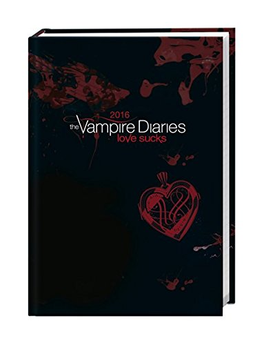 Vampire Diaries 17-Monats-Kalenderbuch A6 2016: 17 Monate. Von August 2015 bis Dezember 2016.