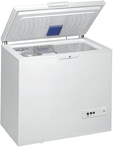 Congelateur Coffre Classe A+ - Whirlpool WHM31112 Autonome Coffre 311L A++ Blanc