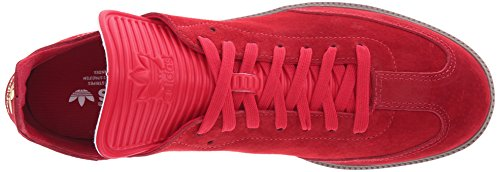 Adidas Performance Samba Mc Lthr chaussures, noir / noir / or métallisé, 7 M Us Scarlet/Scarlet/Gold Metallic