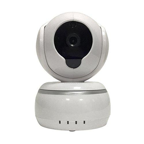HD Netzkamera Nachtsicht LED Webcams 720P Wifi Draht weniger IP Kamera, Zwei-Wege-Stimme, Ring Alert, 3D Echo Rauschunterdrückung Unterstützung für IOS & Android (weiß)