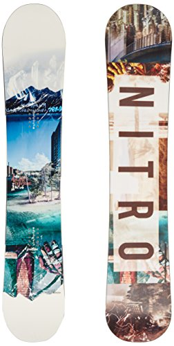 Nitro snowboards – tavola da snowboard da uomo team exposure wide gullwing '17, uomo, snowboard team exposure wide gullwing '17, board