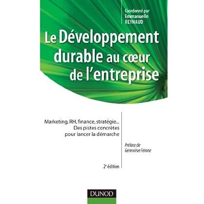 Le développement durable au coeur de l'entreprise- 2e édition (Stratégies et management)