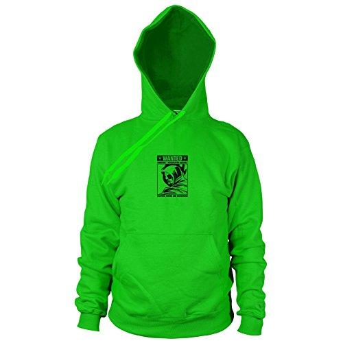 Wanted Arrow - Herren Hooded Sweater, Größe: XXL, Farbe: grün