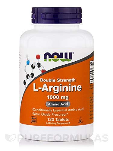 Now Foods L-Arginine, 1000mg, 120 Tablets
