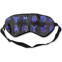 Horoscope Twelve Constellations Art Sleep Eyes Masks - Comfortable Sleeping Mask Eye Cover For Travelling Night... preisvergleich bei billige-tabletten.eu