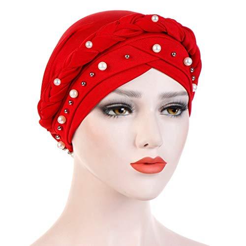 BaZhaHei Sonnenhüte Damen Untertuch Muslimische Kopftücher Frauen Hijab Underscarf Bonnet Muslim Voller Deckel Caps Islamischer Kopfschmuck Shiny Diamond Muslim Turban Hat -