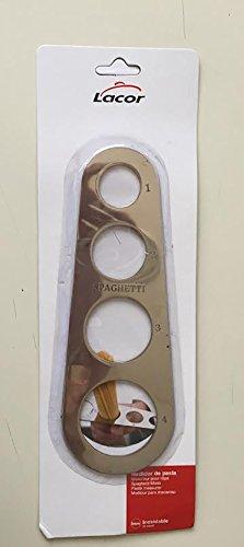 Lacor 62942 - Medidor de pasta inox 18 cm width=