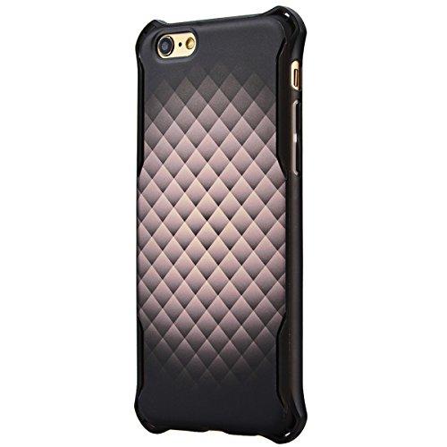 HB-Int 3 in 1 Copertura Dura per Apple iPhone 6 Plus / iPhone 6S Plus (5.5 pollici), Hard Case Cover Creative Design Custodia Ultra Leggera Copertura Anti Graffi Cover + 1 x Stilo + 1 x HD Protezione  Grigio