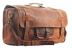 Idea Regalo - SBazar Borsone da viaggio, 50,8 cm, in stile vintage, da uomo, per bagagli a mano, per gite del fine settimana, sport/palestra