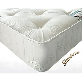 new 6ft king size kensington pocket sprung luxury tufted slumber sleep mattress