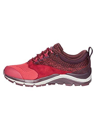 Vaude Femmes Trk Lavik Stx, Chaussures Basses D'escalade Pour Femmes Rouge (rouge)