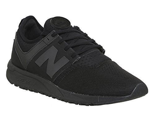 Scarpe uomo New Balance, mod. MR274, colore verde militare, tomaia in mesh Total Black