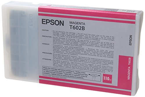 Epson T602B Cartouche d'encre d'origine Magenta (110Ml)