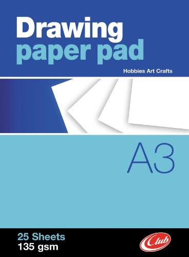 Bloque de papier pour dessiner a3