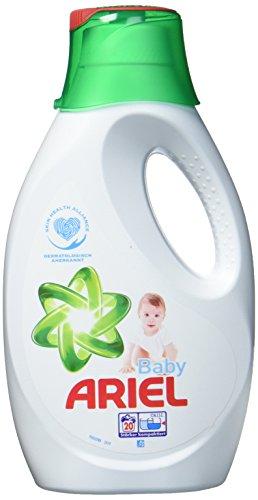 Ariel Baby Vollwaschmittel Flüssig, 4er Pack (4 x 20 Waschladungen)
