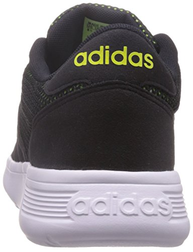 adidas Lite Racer, Chaussures de Sport Homme, Noir, 40.5 EU Noir - Negro (Negbas / Negbas / Amasol)
