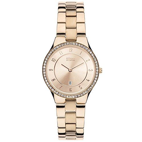 Storm Reloj los Mujeres Slim-X Crystal Rose Gold 47189/RG/RG