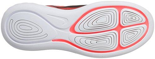 Nike Lunarglide 8, Scarpe da Corsa Uomo Multicolore (Track Red/black-team Red-hot Punch-white)