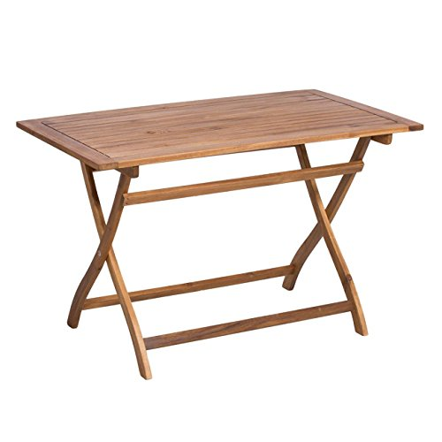 OUTLIV. Gartentisch Toulouse Klapptisch 120x70 cm Akazie FSC Tisch Garten
