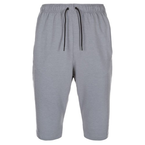 Nike Herren Shorts Dri-Fit Fleece Trainings, grau/schwarz, XL/52/54, 742214-065 (Athletic Fleece Shorts)