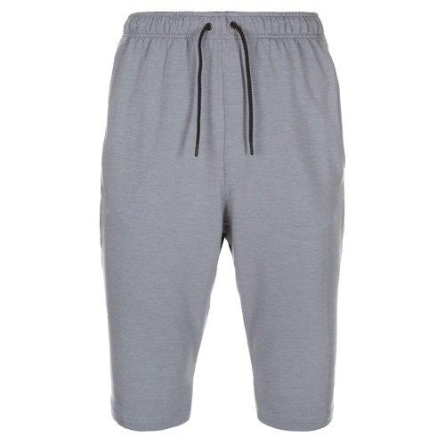 Nike Herren Shorts Dri-Fit Fleece Trainings, grau/schwarz, XL/52/54, 742214-065 (Shorts Athletic Fleece)