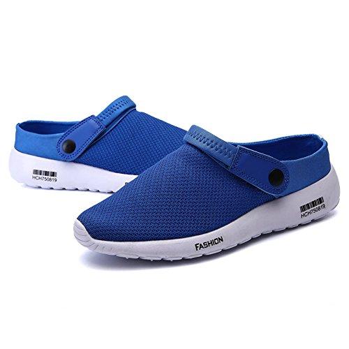 39 Blau 5 Blau SCIEU Blau Herren Sandalen wEvCC8xIq