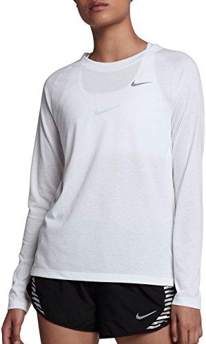 Nike–tailwind running maniche lunghe, donna, infradito colorati estivi, con finte perline, x-small