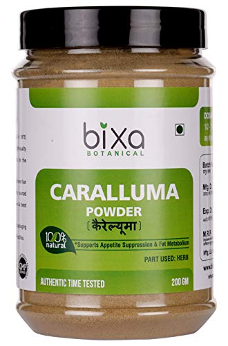 Bixa Botanical Caralluma Powder (Caralluma Fimbriata) Natural Weight Reducer, Herbal Supplement For Weight Loss And Metabolism Increase, Supports To Reduce Appetite & Food Craving (7 Oz / 200g)