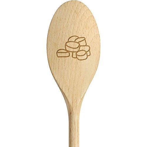 el, schmackhafte Marshmallows, kleiner Löffel für Kinder, zum Essen als Einweihungsgeschenk ()