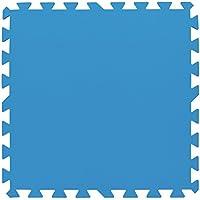 Bestway 58220 Pack de 8 Protectores de Suelo para Piscinas, 50 x 50 cm