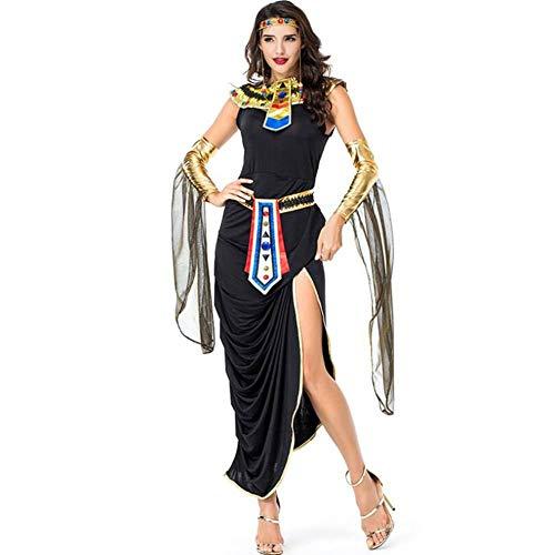 ASDF Ägyptische Göttin Rollenspiele Halloween Cosplay Ägyptische Göttin Leistungskleidung