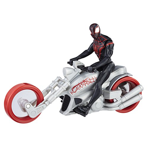 Marvel: Spider-Man - Kid Arachnid & Chopper - 15 cm Action Figur + Bike