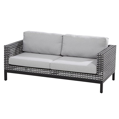 4Seasons Outdoor Dias 2,5-Sitzer Loungesofa Black Pepper inkl. 4 Kissen 213120