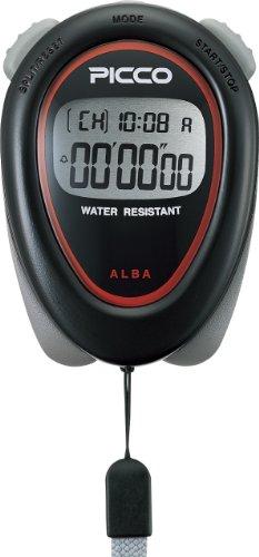 ALBA PICCO STANDARD Black ADMD001 Stopwatch by Seiko