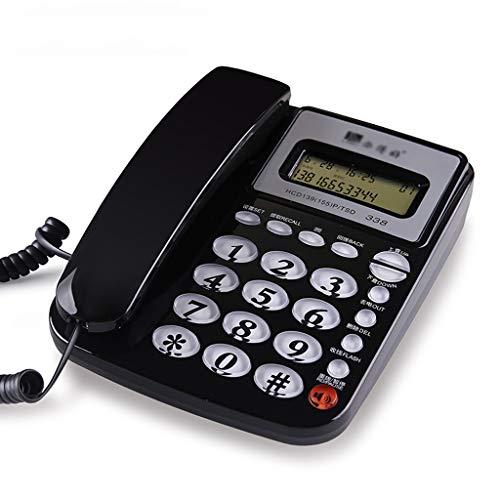 Zfggd telefono con Filo con Call Blocker - Nero