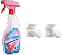 Multifunktions Umweltfreundlich Sprudelnd Spray Reinigungs Kit Haushaltsreiniger Konzentrat Haushalts Reinigung Werkzeuge Sprudelnd Spray Reiniger Sprudeltabletten mit Gießkanne