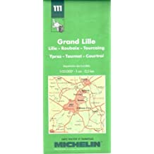 Michelin Map: Grand Lille (Michelin Maps) by Michelin Travel Publications (1995-04-06)