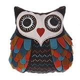 Sass & Belle Penelope Felt Owl Cushion Cover with Inner