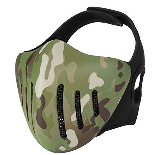 Bigherdez Halloween Maske Outdoor Feld Masken Airsoft Paintball Tractical Mask Glory Ritter Maske Taktische Schutzausrüstung
